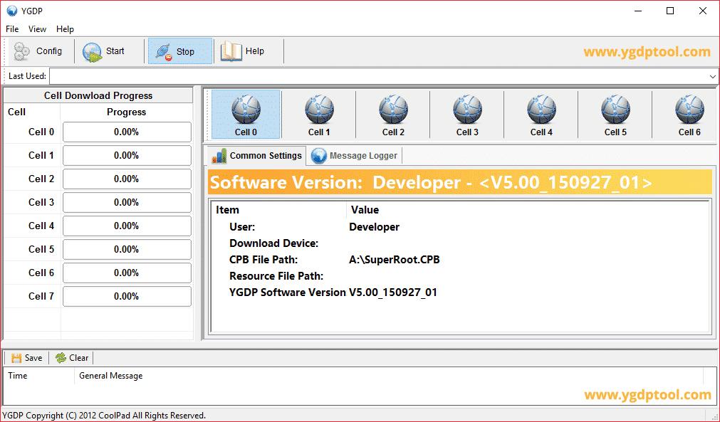 YGDP Tool V5.00